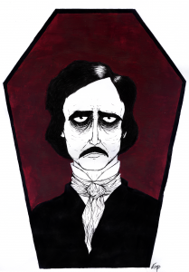 Edgar Allan Poe by execated