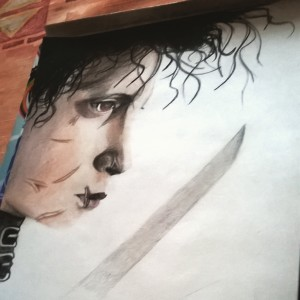 Edward Scissorhands - Johnny Depp by daguska93