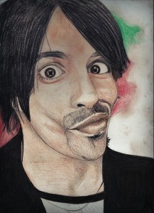Anthony Kiedis (Red Hot Chili Peppers) by daguska93