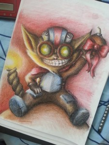 Ziggs - League of Legends by YoshikaArt