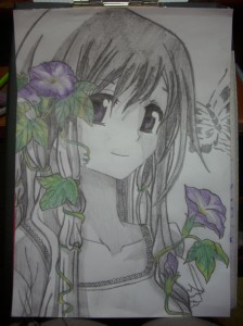 Girl Flower by Shina098