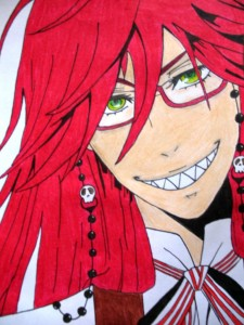 Grell by Madie