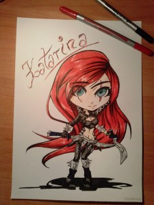 Katarina by Crazolkaaa