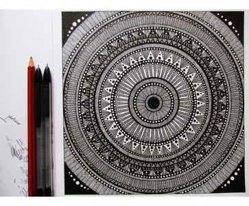 Mandala by BlackArt