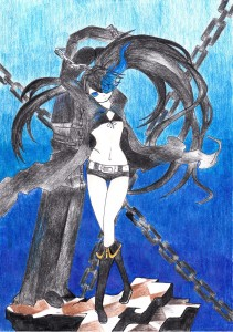 Black Rock Shooter by Shinko
