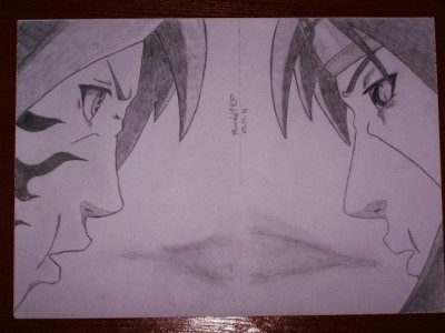 Sasuke vs Itachi by Barttik