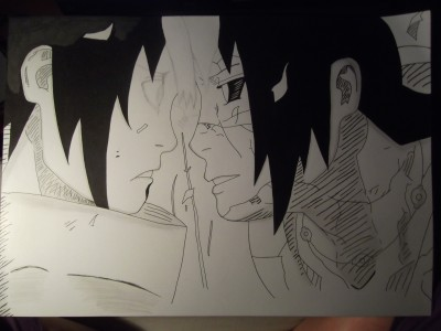 Sasuke and Itachi by Stefcio