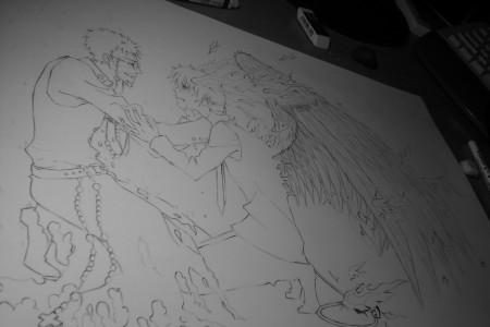 Ao no Exorcist wip by BK201