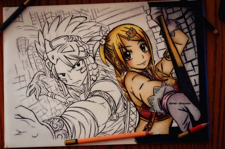 Fairy tail in progress by senmetsu