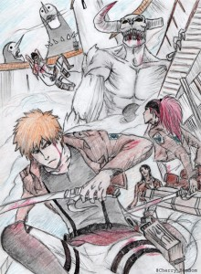 attack on hollow by cherry
