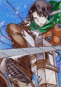 Rivaille by senmetsu