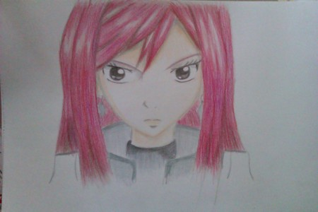 Erza by toflersson