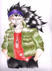 Gajeel by Shinko