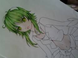 Gumi WIP 2 by Ellivenore